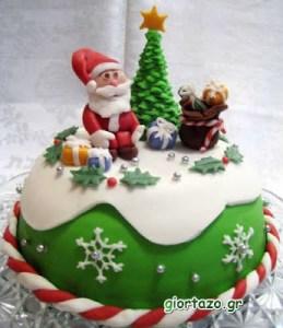 Χριστουγεννιάτικες τούρτες……….giortazo.gr