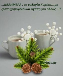 🎄🎄…ΚΑΛΗΜΕΡΑ , με ευλογία Κυρίου..με ζεστό χαμόγελο και αγάπη για όλους…!!