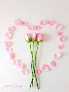 Καρδιές Με Λουλούδια