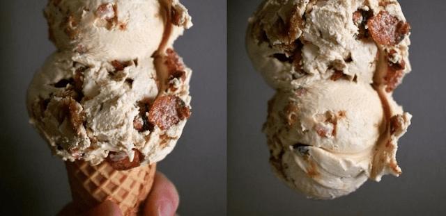 παγωτό με γεύση χοιρινό