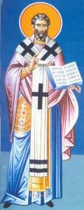 9 Ιουλίου μνήμη του Αγίου ιερομάρτυρος Παγκρατίου επισκόπου Ταυρομενίου