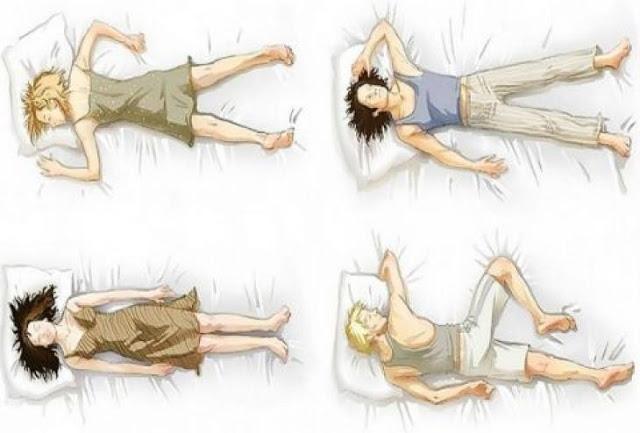 Τι μαρτυράει ο τρόπος που κοιμόμαστε