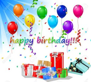 Read more about the article Happy Birthday  .. giortazo.gr