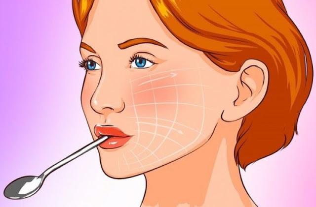 Κράτα ένα κουτάλι για 10» στο στόμα σου και θα δεις το πρόσωπό σου να μεταμορφώνεται