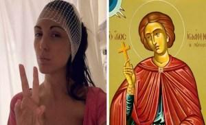 Read more about the article Aνθή Βούλγαρη: «Όταν χειρουργήθηκα στο κεφάλι ο Άγιος Ιωάννης ο Ρώσος ήταν εκεί μαζί μου»!!!
