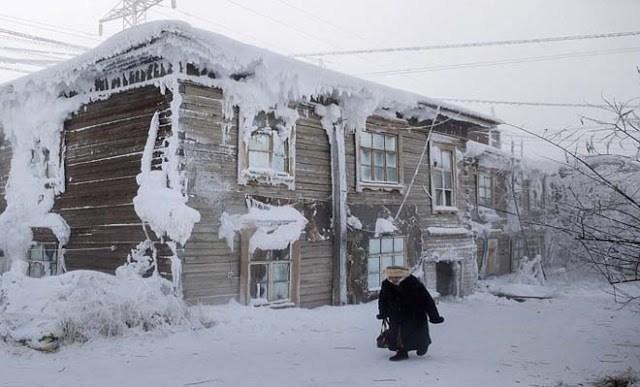 Tο πιο παγωμένο μέρος του κόσμου