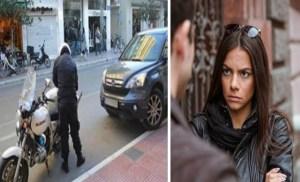 Τέτοιους τροχονόμους θέλουμε: Τον χειροκρότησε όλη η Λάρισα επειδή έκοψε κλήση στην γυναίκα του