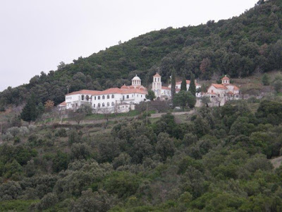 Η σημερινή Ιερά Μονής Παναγίας Ροβέλιστας