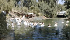 Βίντεο Που Παρουσιάζει Θαύμα Στον Ιορδάνη Ποταμό