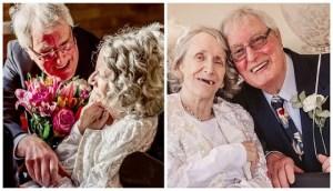 Άντρας έκανε πρόταση γάμου στη γυναίκα του κάθε χρόνο για 40 χρόνια κι εκείνη είπε το ναι σε ηλικία 72 ετών