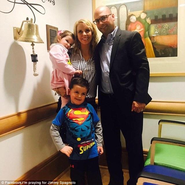Συγχαρητήρια στην οικογένεια Spagnolo και στον μικρό τους Superman!