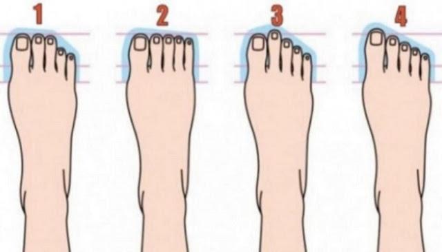 Τι αποκαλύπτει το σχήμα των ποδιών σας για τον χαρακτήρα σας