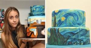 Read more about the article Καλλιτέχνης αναπαριστά διάσημους πίνακες πάνω σε τούρτες! Έχει καταγωγή από την Κύπρο και είναι ευρέως γνωστή για τη δημιουργία τέχνης με καφέ