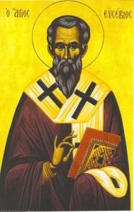22 Ιουνίου μνήμη του Αγίου ιερομάρτυρος Ευσεβίου , επισκόπου Σαμοσάτων