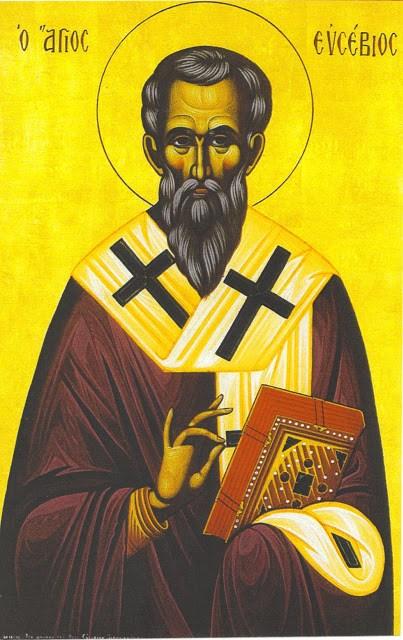 μνήμη του Αγίου ιερομάρτυρος Ευσεβίου