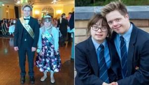 Ζευγάρι 16χρονων με σύνδρομο Down χρίστηκαν βασιλιάδες στον χορό αποφοίτησης του σχολείου τους