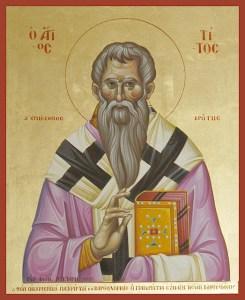 Read more about the article Άγιος Τίτος ο Απόστολος 25 Αυγούστου