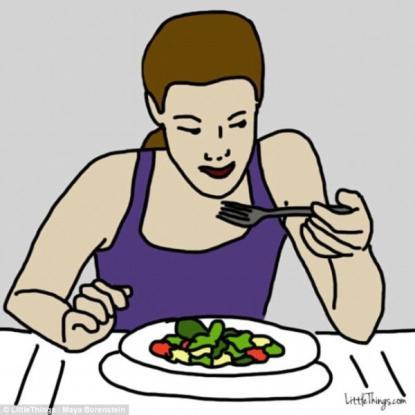 Τι αποκαλύπτει για τον χαρακτήρα σας ο τρόπος που τρώτε το φαγητό σας (Photos)