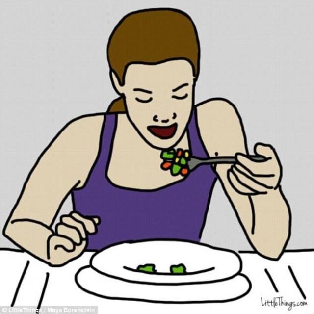 Τα άτομα που τρώνε γρήγορα το φαγητό τους