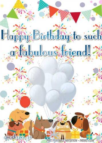 Best Happy Birthday Wishes giortazo Happy Birthday to you Balloons