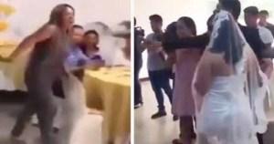 Read more about the article «Μην την παντρευτείς»: Γυναίκα εισβάλει σε γάμο, φωνάζει «σ'αγαπώ» στον γαμπρό και ρίχνει χαστούκι στη νύφη