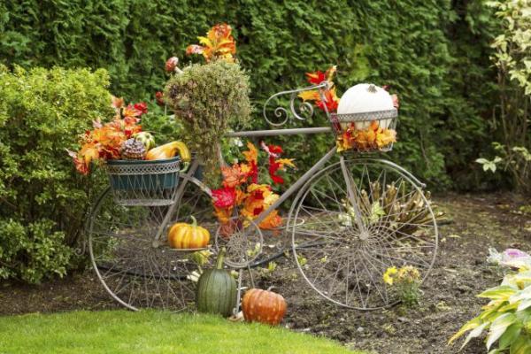 7 τρόποι να μετατρέψεις το παλιό σου ποδήλατο σε διακοσμητικό