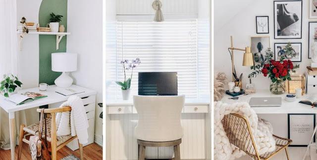 Φωτογραφίες-έμπνευση να αλλάξετε τον χώρο σας αν δουλεύετε από το σπίτι