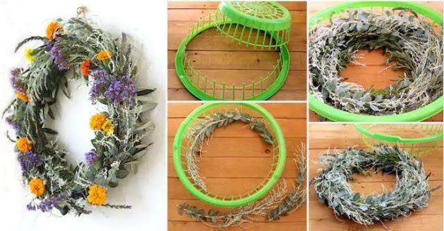 Έξυπνες ιδέες για να φτιάξετε απίστευτες δημιουργίες από καλάθια !