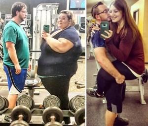 Ζευγάρι έχασε 225 κιλά μέσα σε 2 χρόνια