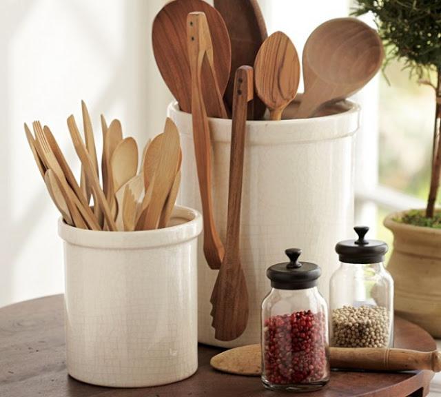 ξύλινες κουτάλες