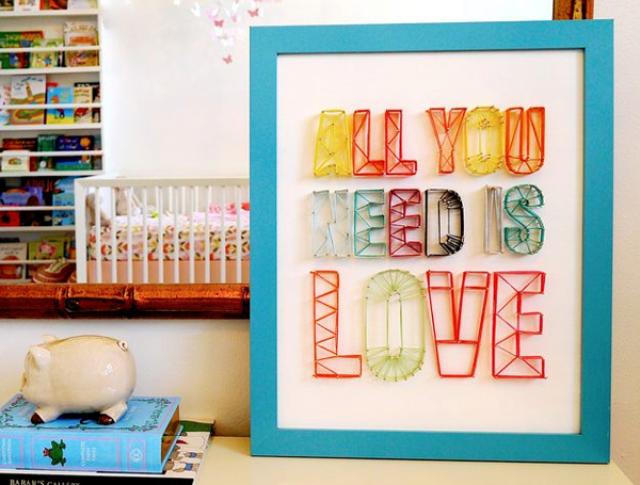 Μια φράση all you need is love