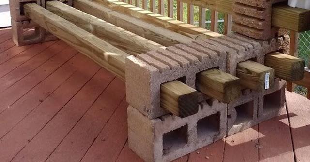 19 υπέροχες DIY δημιουργίες τσιμεντένια τούβλα δόμησης