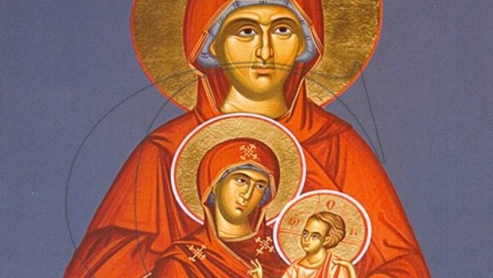 Γιατί η Αγία Άννα γιορτάζει 3 φορές το χρόνο;