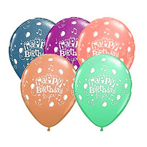 Happy birthday balloons collection pictures