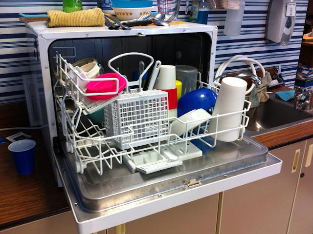 Πώς να καθαρίσετε ένα πλυντήριο πιάτων