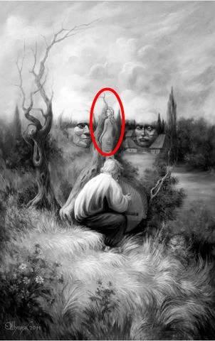 γυναίκα στο δέντρο