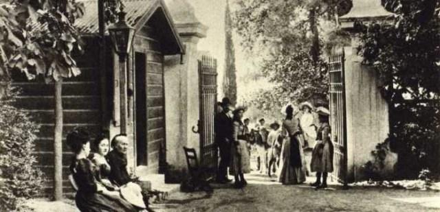 Ο Εθνικός Κήπος 100 χρόνια πριν