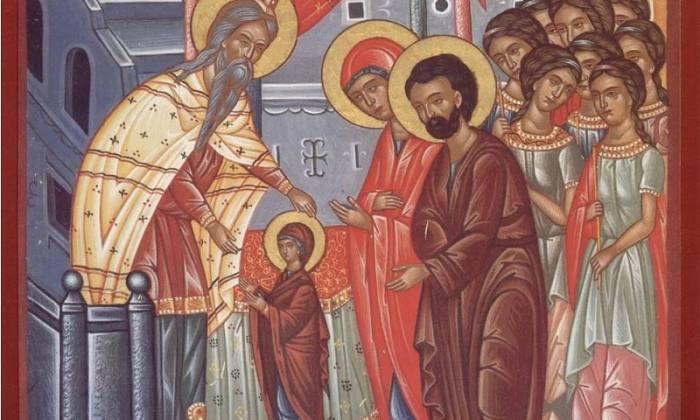 Τα εισόδια της Θεοτόκου : 21 Νοεμβρίου Εορτολόγιο