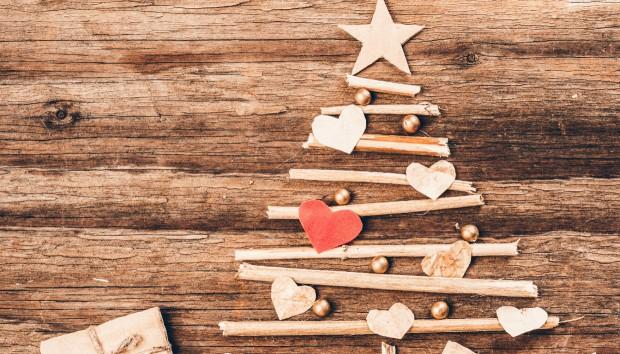 Φτιάξτε Μόνοι σας 2 Πανέμορφα Χριστουγεννιάτικα Ξύλινα Δέντρα