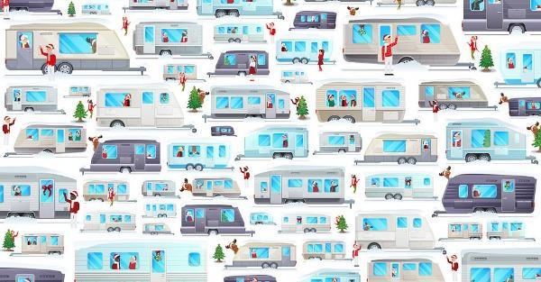 Μπορείς να βρεις τον Άγιο Βασίλη στο χιονισμένο τοπίο; -Χριστουγεννιάτικο κουίζ για λίγους..