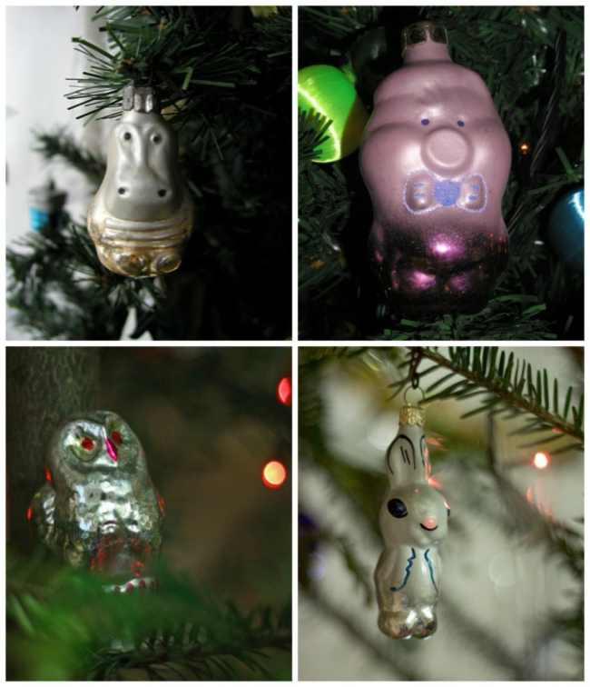Τα χριστουγεννιάτικα στολίδια από το παρελθόν