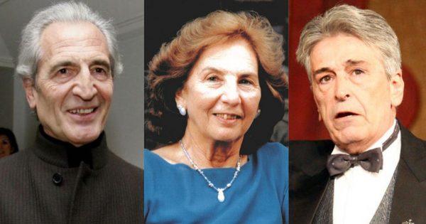 αγαπημένοι διάσημοι Έλληνες που έφυγαν από τη ζωή