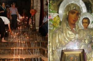 Read more about the article Ο τάφος της Παναγίας: Τα 49 σκαλιά για τον Τάφο – Και η θαυματουργή εικόνα Της Παναγίας της Ιεροσολημήτισσας