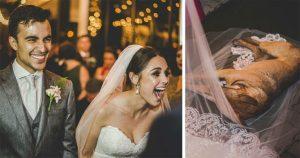 """Read more about the article H αντίδραση ζευγαριού που """"χάλασε"""" τον γάμο κέρδισε το Ίντερνετ"""