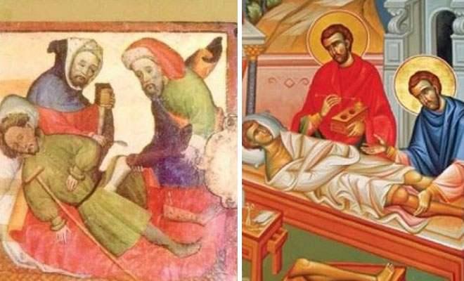 Το συγκλονιστικό θαύμα των Αγίων Αναργύρων πριν από 1.700 έτη