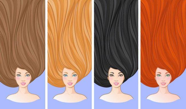 Tι σκέφτεται ένας άντρας για μια γυναίκα ανάλογα με το χρώμα των μαλλιών της