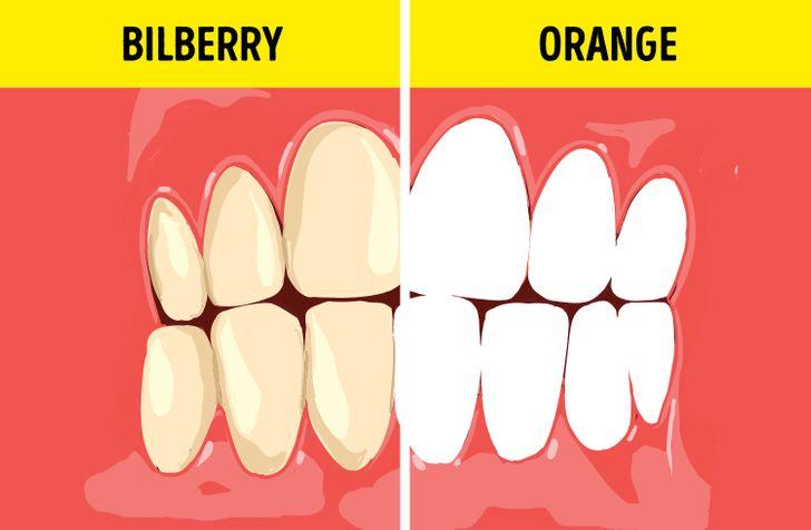 7 τροφές που λευκαίνουν τα δόντια