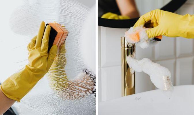 Δεν αφαιρείτε αμέσως λεκέδες σαπουνιού στο μπάνιο