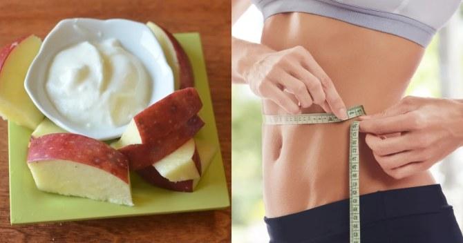 Δίαιτα με γιαούρτι και μήλα