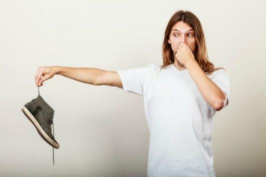 Εξαφανίστε την άσχημη μυρωδιά των παπουτσιών